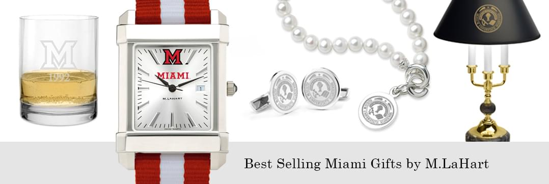 Best selling Miami University watches and fine gifts at M.LaHart