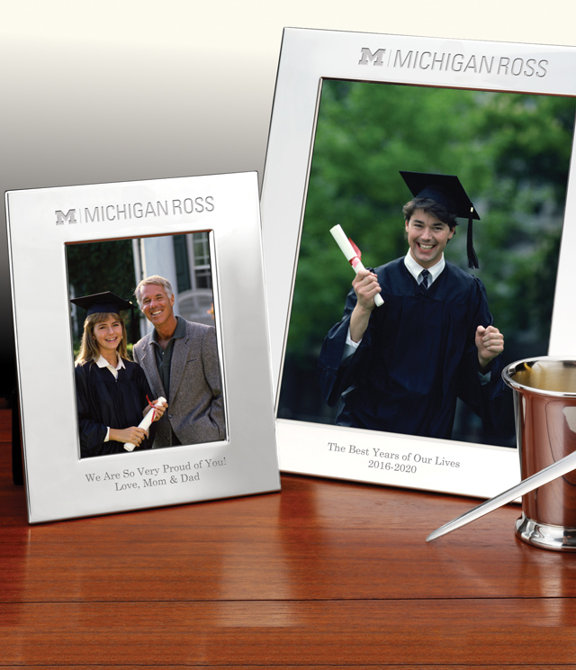 Ross School of Business Picture Frames and Desk Accessories - Ross School of Business Commemorative Cups, Frames, Desk Accessories and Letter Openers