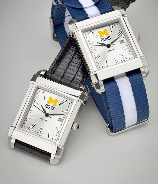 Ross School of Business Men's Watches. TAG Heuer, MOVADO, M.LaHart