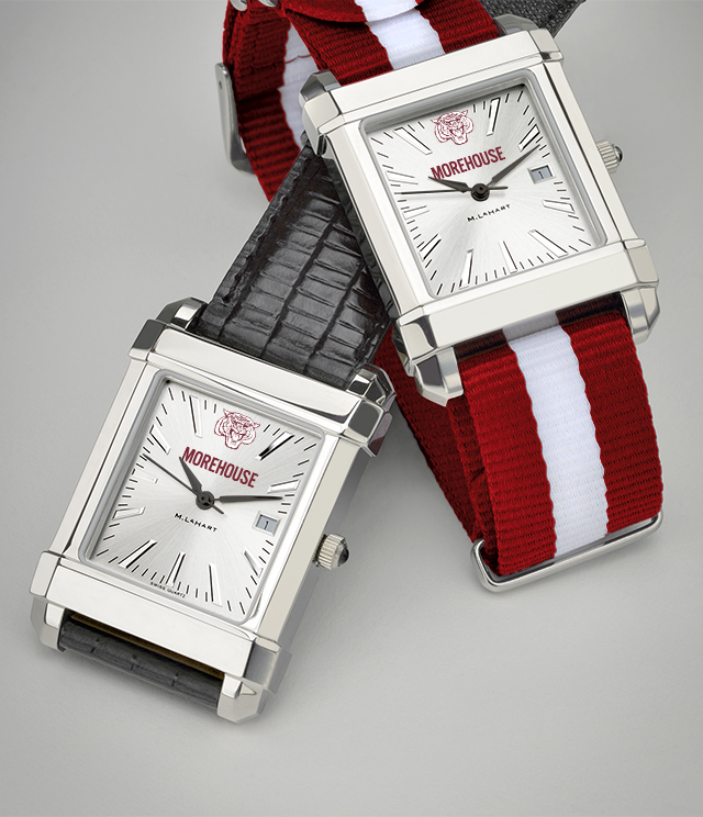 Morehouse College Men's Watches. TAG Heuer, MOVADO, M.LaHart