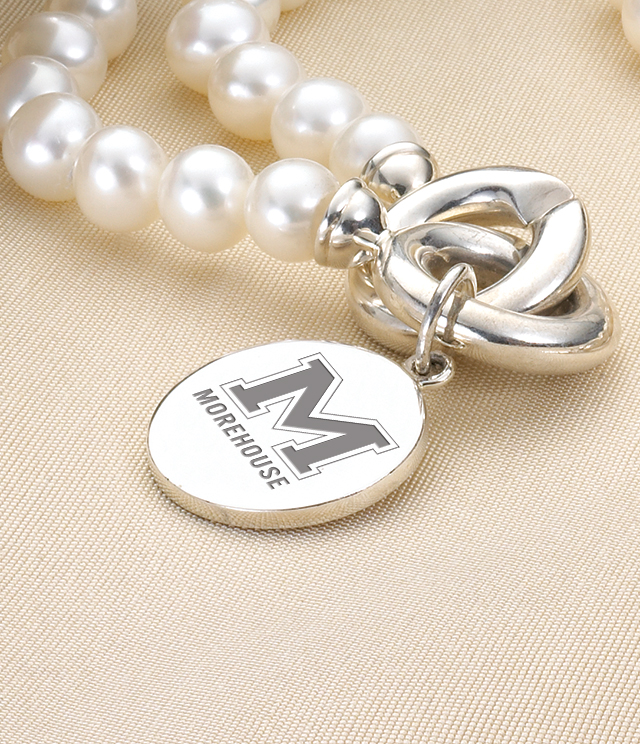 Morehouse College Jewelry for Women - Sterling Silver Charms, Bracelets, Necklaces. Personalized Engraving.