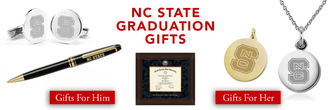 NC State Graduation Gifts for Her and for Him