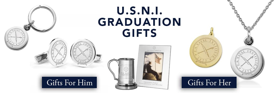 U.S. Naval Institute Graduation Gifts for Her and for Him