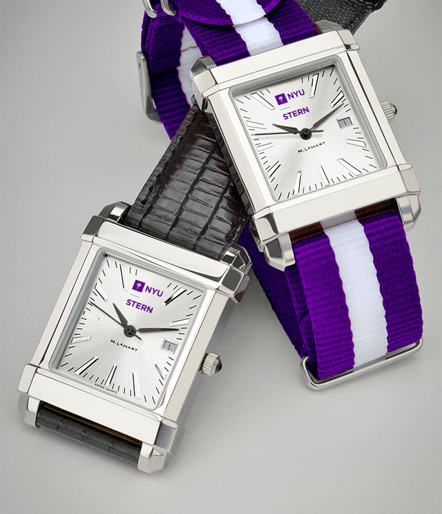 NYU Stern Men's Watches. TAG Heuer, MOVADO, M.LaHart