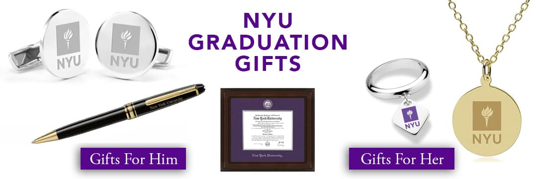 NYU Graduation Gifts for Her and for Him