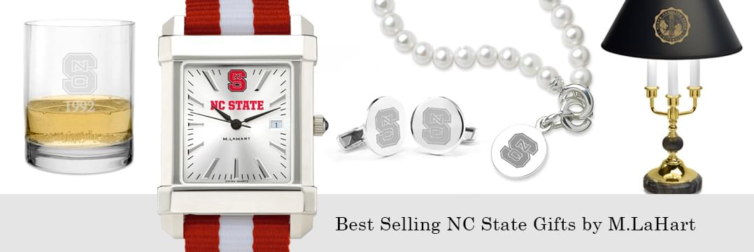 Best selling NC State watches and fine gifts at M.LaHart