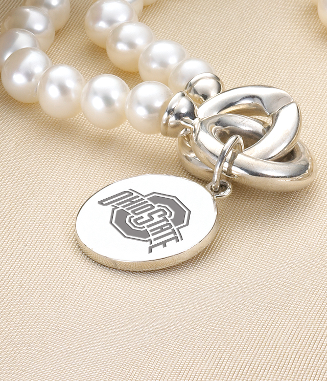 Ohio State Jewelry for Women - Sterling Silver Charms, Bracelets, Necklaces. Personalized Engraving.
