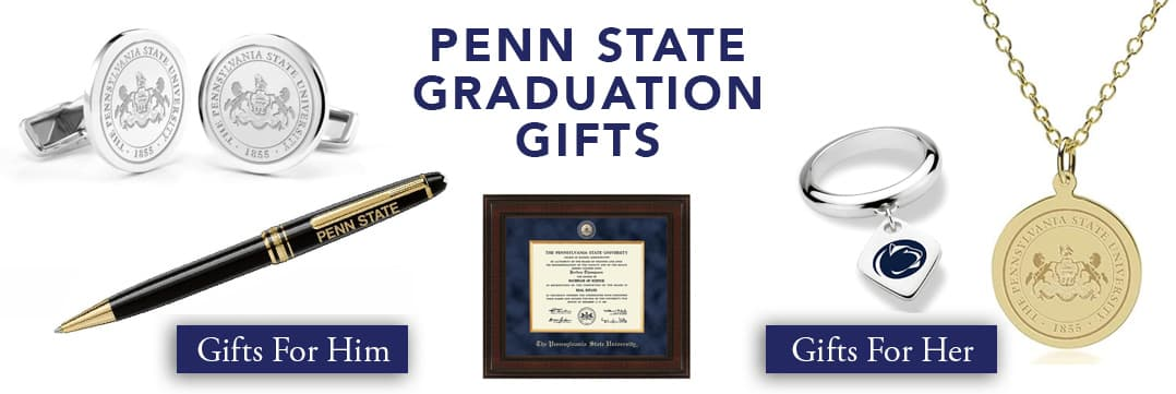 White Placeholder Image Penn State Graduation Gifts for Her and for Him