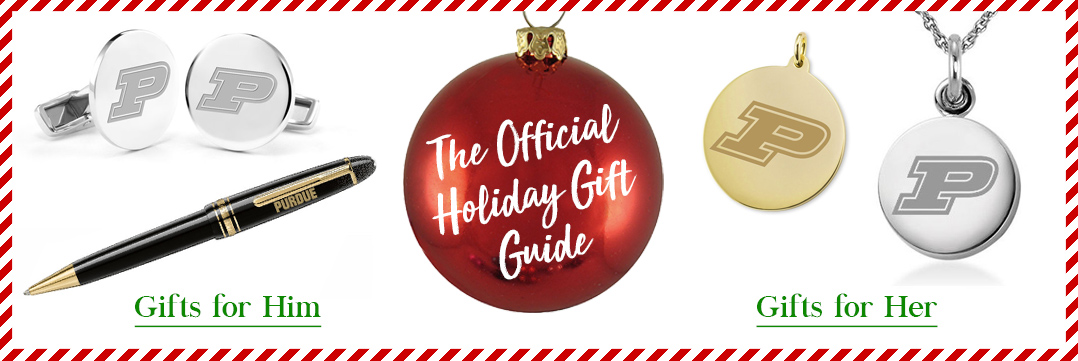 The Official Holiday Gift Guide for Purdue University