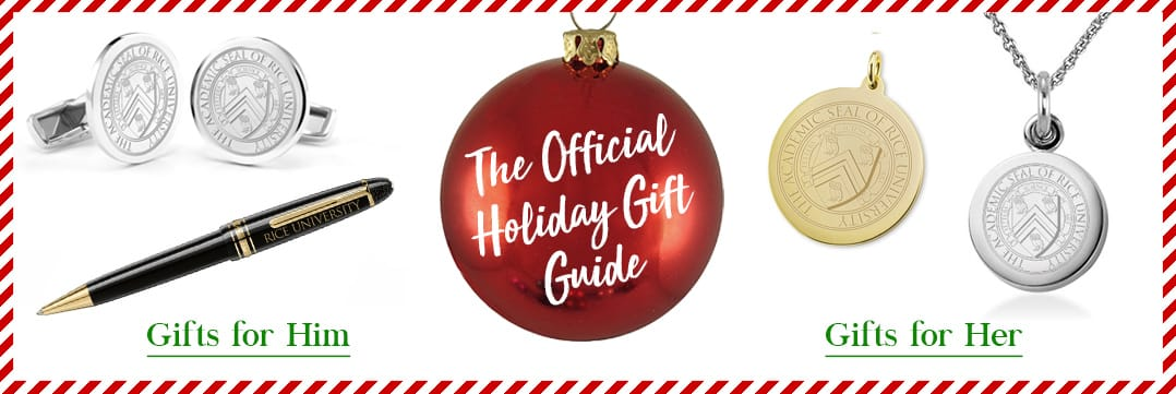 The Official Holiday Gift Guide for Rice University