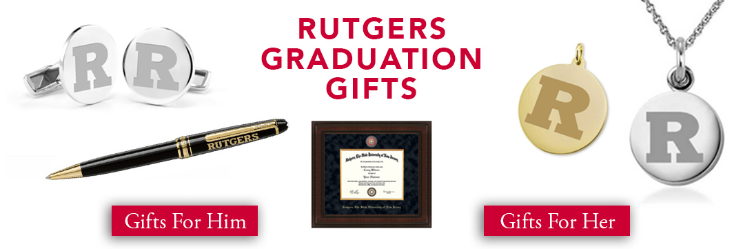 Rutgers Graduation Gifts for Her and for Him