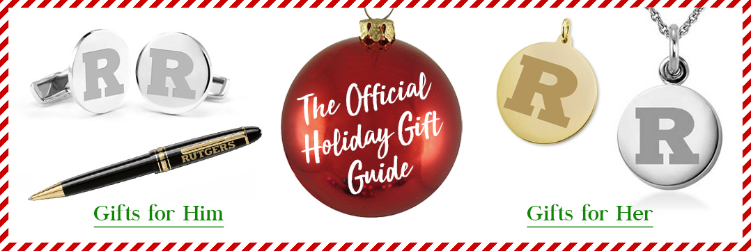 The Official Holiday Gift Guide for Rutgers