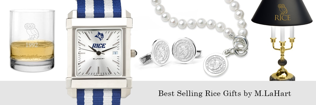 Best selling Rice University watches and fine gifts at M.LaHart