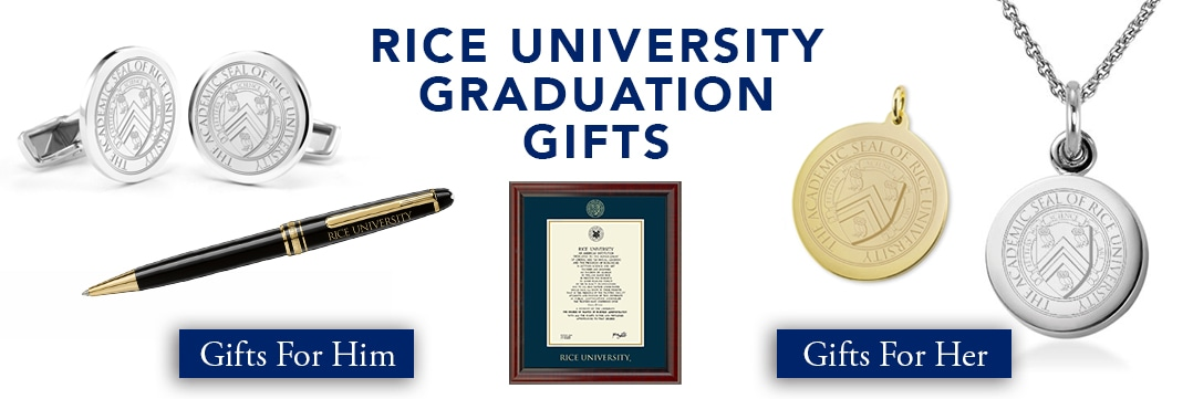 Rice University Graduation Gifts for Her and for Him