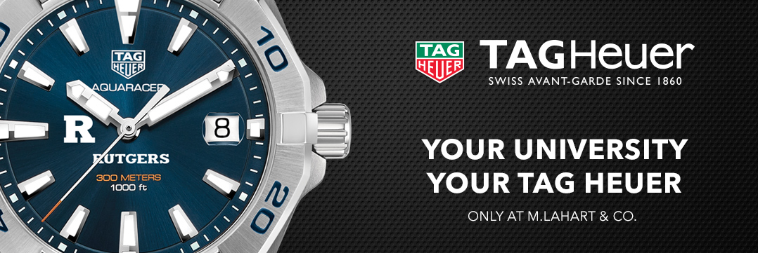 Rutgers TAG Heuer Watches - Only at M.LaHart