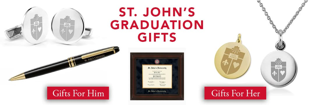St. John's University Graduation Gifts for Her and for Him