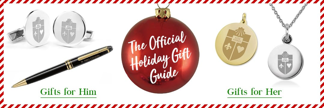 The Official Holiday Gift Guide for St. John's University