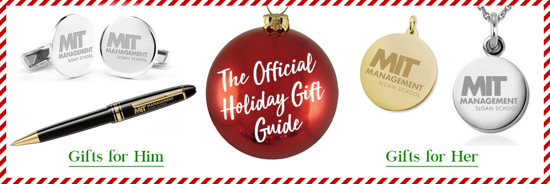 The Official Holiday Gift Guide for MIT Sloan