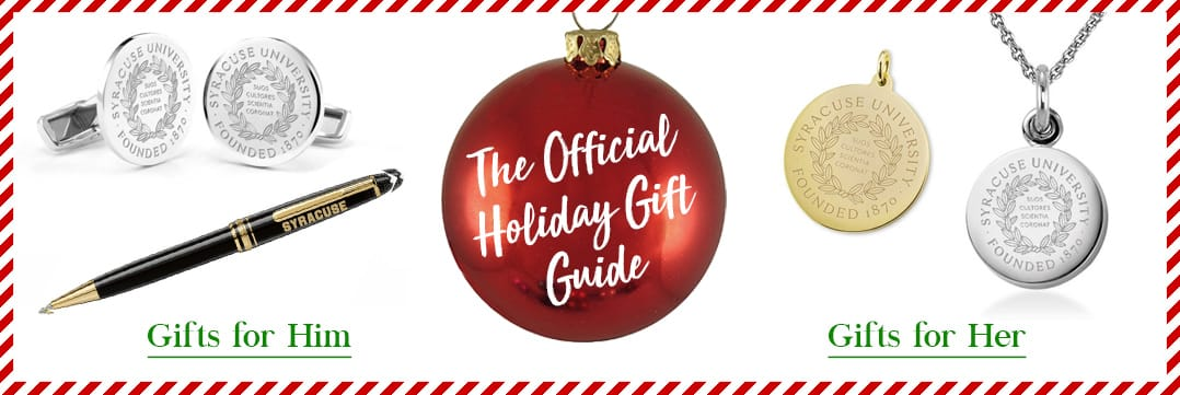 The Official Holiday Gift Guide for Syracuse