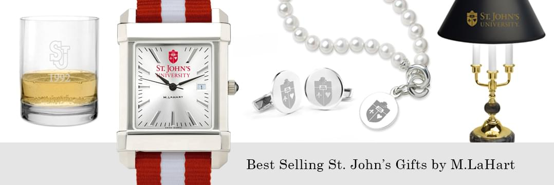 Best selling St. John's University watches and fine gifts at M.LaHart