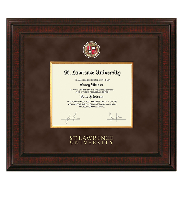 St. Lawrence University Picture Frames and Desk Accessories - St. Lawrence University Commemorative Cups, Frames, Desk Accessories and Letter Openers