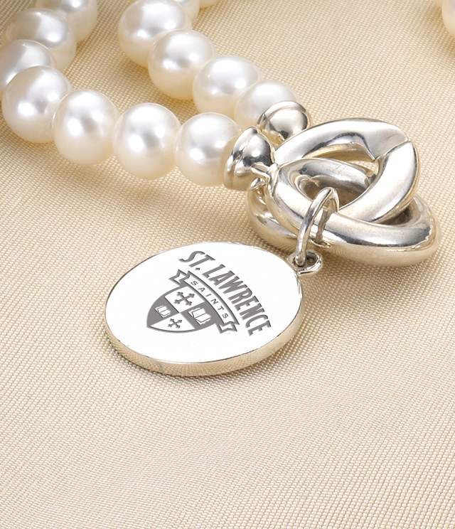 St. Lawrence University Jewelry for Women - Sterling Silver Charms, Bracelets, Necklaces. Personalized Engraving.