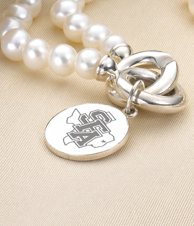 Stephen F. Austin Jewelry for Women - Sterling Silver Charms, Bracelets, Necklaces. Personalized Engraving.