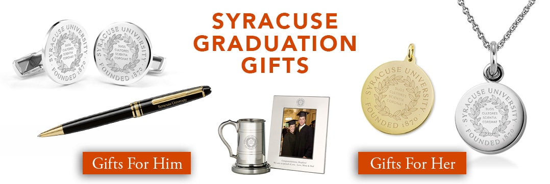 Syracuse Graduation Gifts for Her and for Him