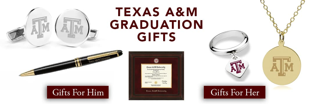 Texas A&M Graduation Gifts for Her and for Him