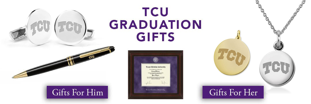 TCU Graduation Gifts for Her and for Him