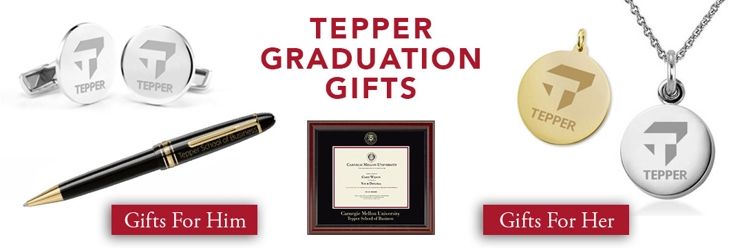 Tepper School of Business Graduation Gifts for Her and for Him