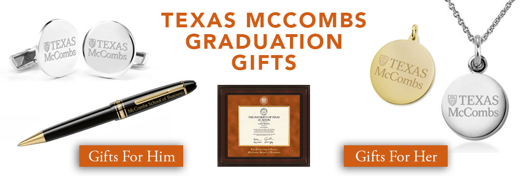 Texas McCombs Graduation Gifts for Her and for Him