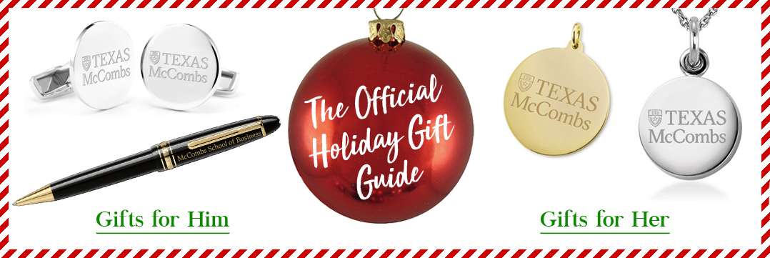 The Official Holiday Gift Guide for Texas McCombs