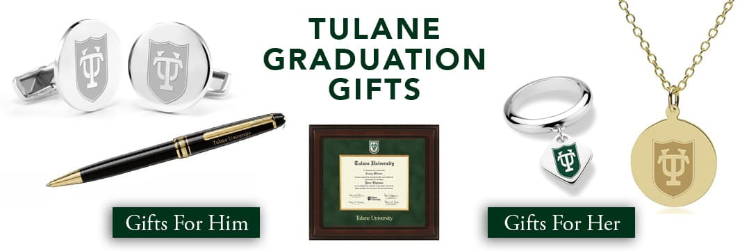 Tulane University Graduation Gifts for Her and for Him