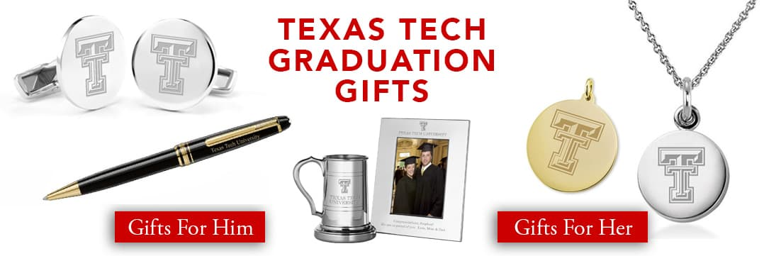 Texas Tech Graduation Gifts for Her and for Him