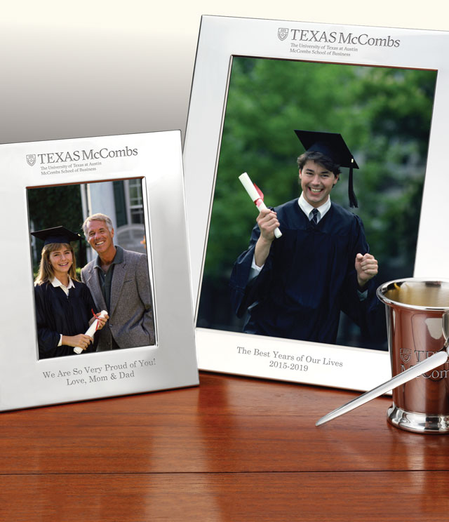 Texas McCombs Picture Frames and Desk Accessories - Texas McCombs Commemorative Cups, Frames, Desk Accessories and Letter Openers