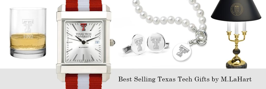 Best selling Texas Tech watches and fine gifts at M.LaHart