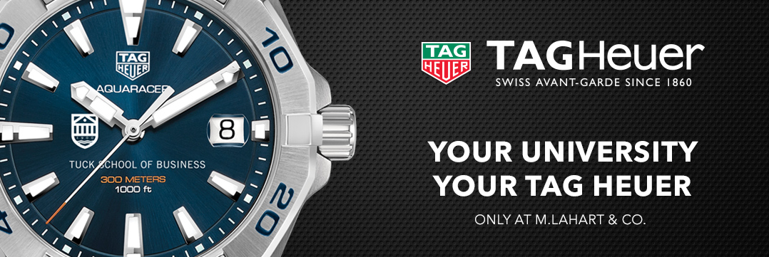 Tuck School of Business TAG Heuer Watches - Only at M.LaHart