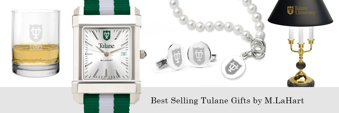 Best selling Tulane University watches and fine gifts at M.LaHart