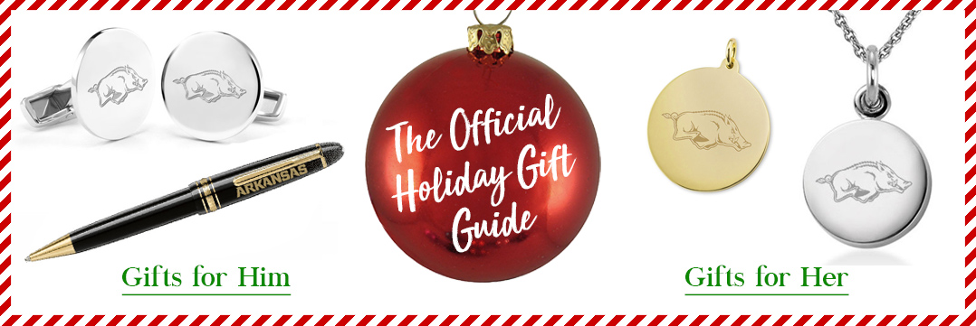 The Official Holiday Gift Guide for University of Arkansas