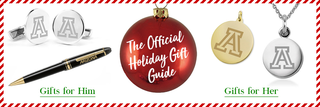 The Official Holiday Gift Guide for University of Arizona