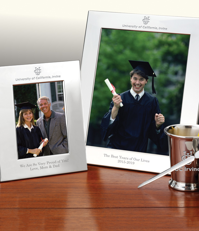 UC Irvine Picture Frames and Desk Accessories - UC Irvine Commemorative Cups, Frames, Desk Accessories and Letter Openers