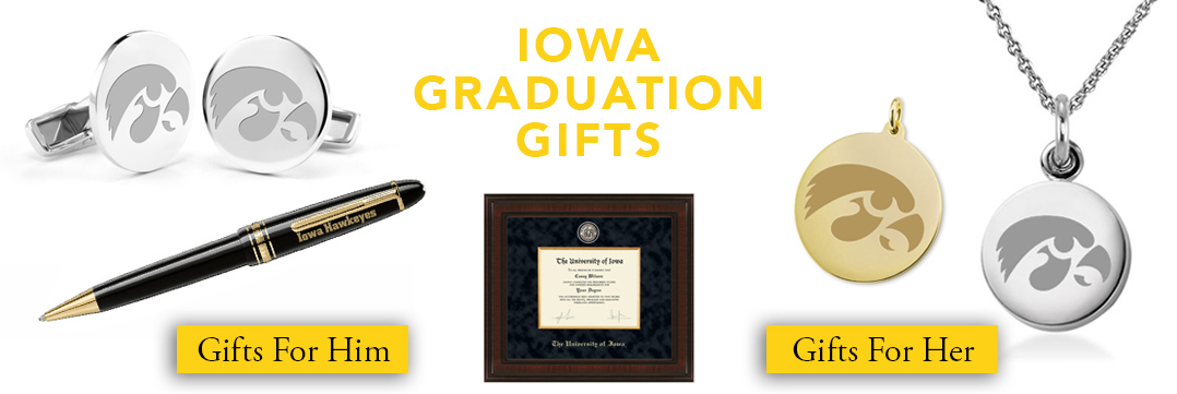 Iowa Graduation Gifts for Her and for Him