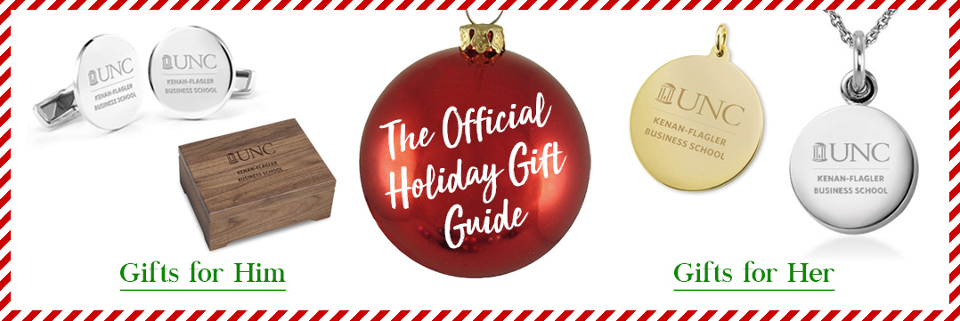 The Official Holiday Gift Guide for UNC Kenan Flagler