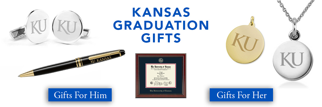 Kansas Graduation Gifts for Her and for Him