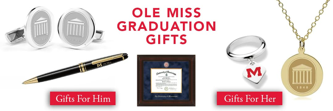 Ole Miss Graduation Gifts for Her and for Him
