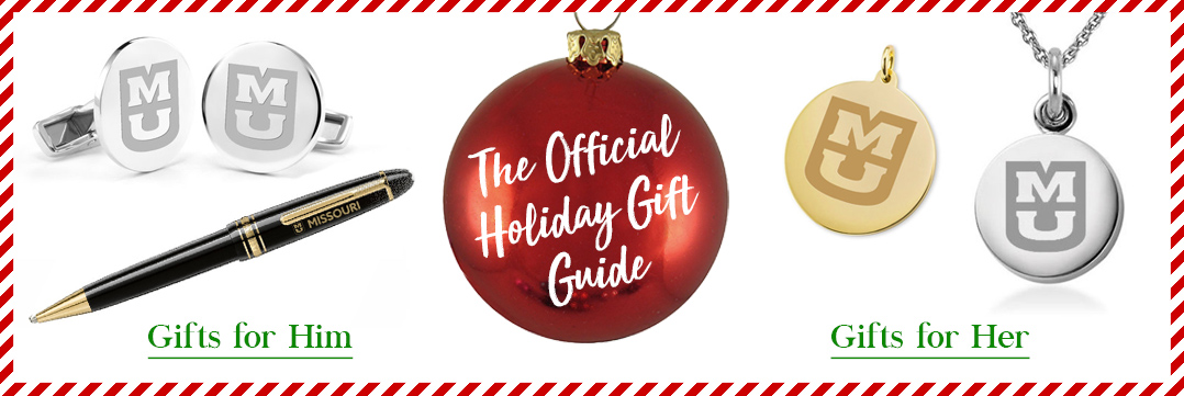 The Official Holiday Gift Guide for University of Missouri