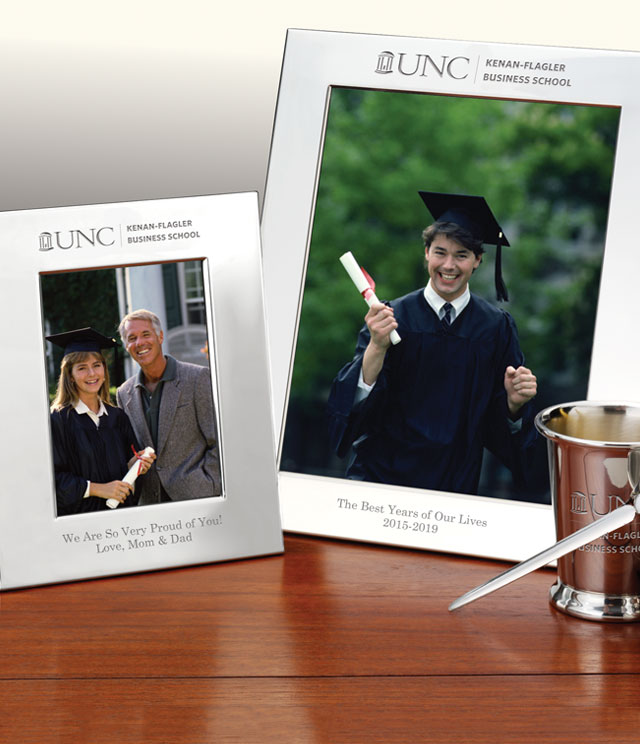 UNC Kenan-Flagler Picture Frames and Desk Accessories - UNC Kenan-Flagler Commemorative Cups, Frames, Desk Accessories and Letter Openers