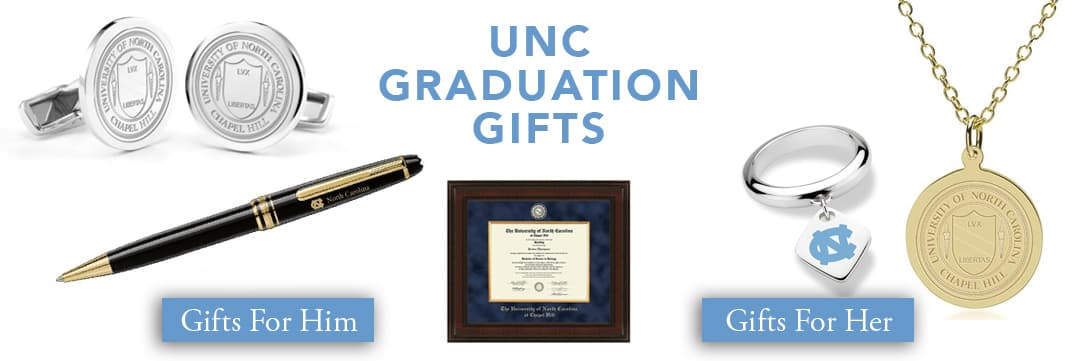 North Carolina Graduation Gifts for Her and for Him