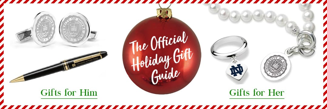 The Official Holiday Gift Guide for Notre Dame